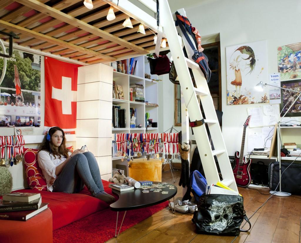 """Julie, 19 -€"""" Vevey, Svájc"""